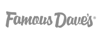 famous dave grey logo